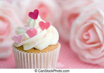 valentijn, cupcake