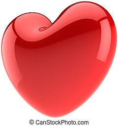 valentijnshart, vorm, verliefd