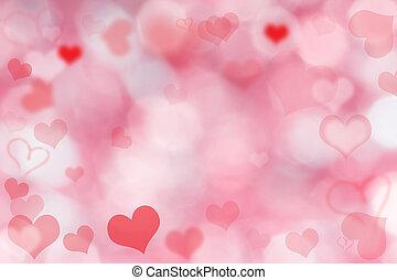 valentin, dzień, tło