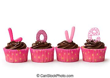valentin, petits gâteaux