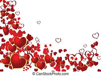 valentina, fondo, con, posto, per, tuo, testo