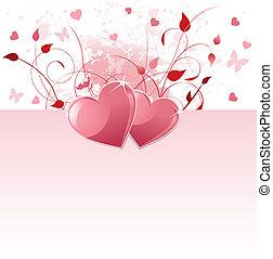 valentina, giorno, fondo