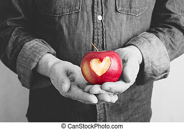 valentina, mela, giorno