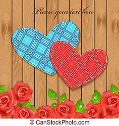 valentina, su, uno, struttura legno