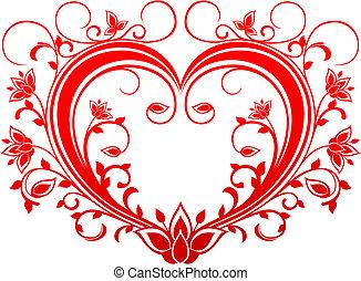 valentinbrev, hjärta