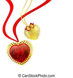valentineçs jour, cœurs