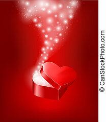 valentineçs jour, fond, vecteur