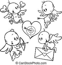 valentine, ángeles