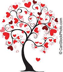 valentine, árbol
