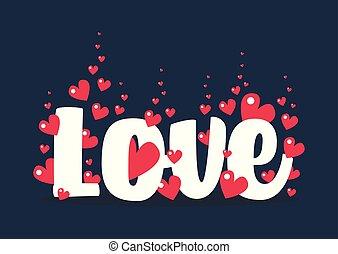 valentine, święty, powitanie karta, dzień
