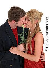 valentine, amor, adultos jóvenes