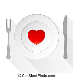 valentine, amor, prato