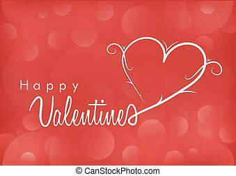 Valentine and heart
