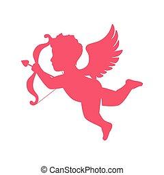 Schön Valentine Angel Cupid