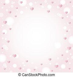 valentine, astratto, illustrazione, vettore, disegno, fondo, matrimonio, cuori, giorno