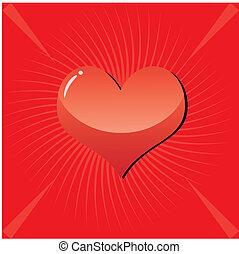 Valentine Background 3 - valentine background with heart on ...
