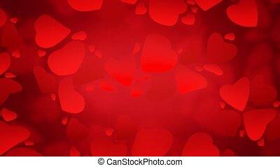 Valentine Background 4 - Valentine's theme background with...