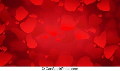 Valentine Background 5 - HD Valentine's background with red...
