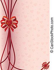 valentine background - valentine vectorbackground with heart...