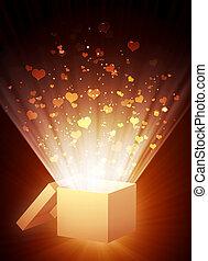 Valentine background - Decorative collage - vertical...