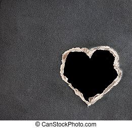 Valentine background - Horizontal valentine background with...