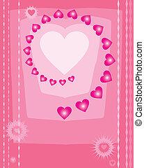 Valentine Background Vector Art