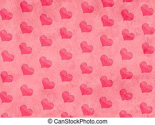 Valentine background - Decorative grunge valentine...