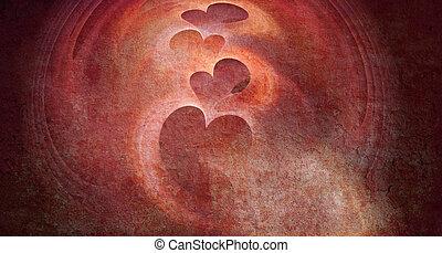 Valentine background - Digital generated graphic Valentine...