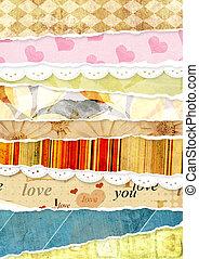 Valentine background - Decorative valentine background for...