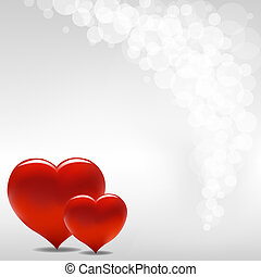 Valentine Background, Vector Illustration