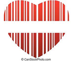 valentine bar code