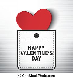 valentine, bolso, vetorial, desenho, dia, feliz