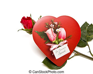 Valentine Candy and Rosebud