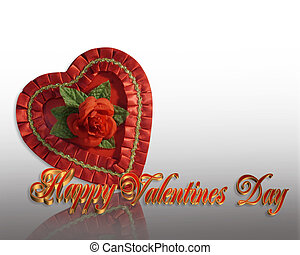 Valentine Candy Heart - Image and illustration composition...