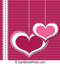 valentine card - Valentine or invitation, greeting card...