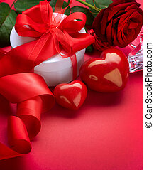 Valentine Card Design with Space for your Text