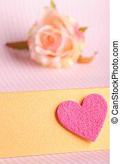 valentine, cartão