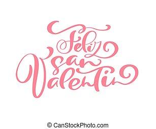 valentine, carteles, mundo, handmade., diseño, feliz,...
