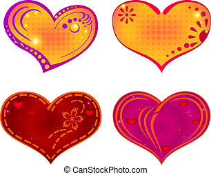 valentine, coração, jogo