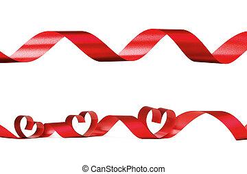 valentine, corazón, marco