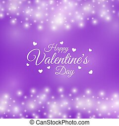 valentine, cornice, illustrazione, day., vettore, disegno, cuori, tuo