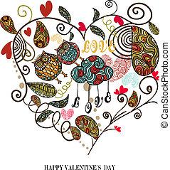 Valentine cute lovely heart