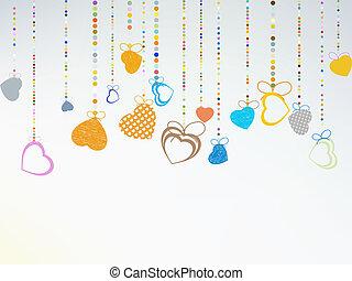 Valentine day background. EPS 8