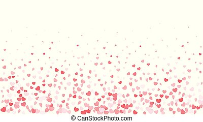 Valentine day border design template