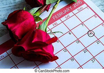 Valentine Day, celebrating romance together