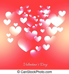 valentine day heart background