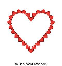 valentine day heart decorative