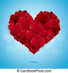 Valentine Day Heart Shape