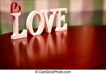 valentine day love shape