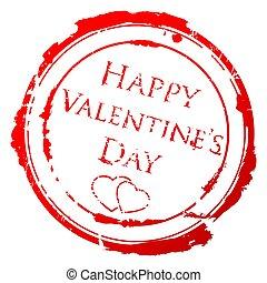Valentine Day stamp